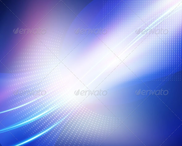 Abstract Blue Background - Backgrounds Decorative