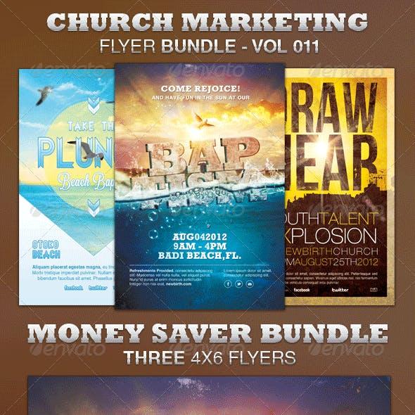 Church Marketing Flyer Bundle-Vol 011