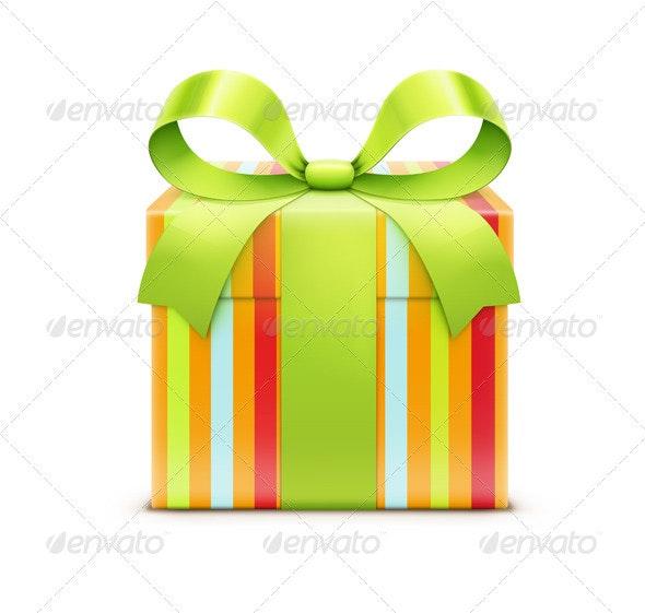 Present Box - Seasons/Holidays Conceptual