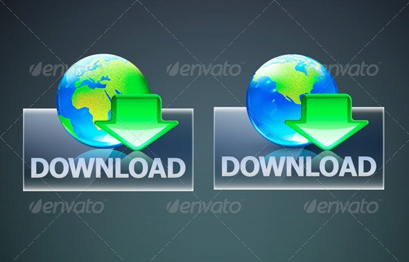 Global Download Concept - Web Technology