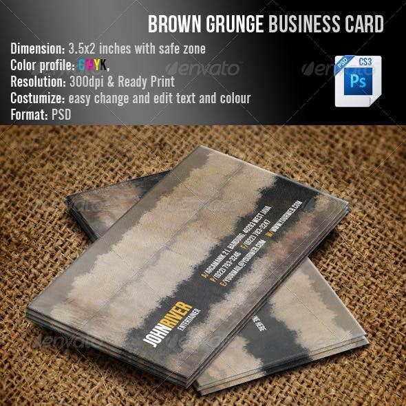 Brown Grunge