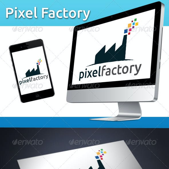 Pixel Factory Logo