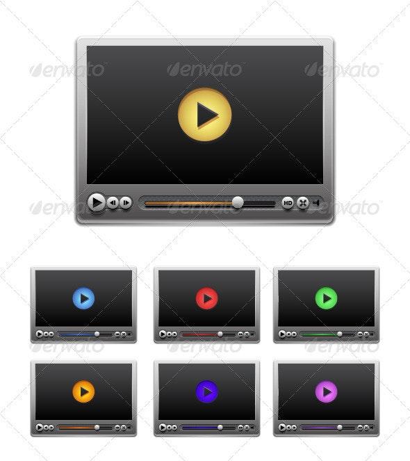 Vector Media Player - Web Technology