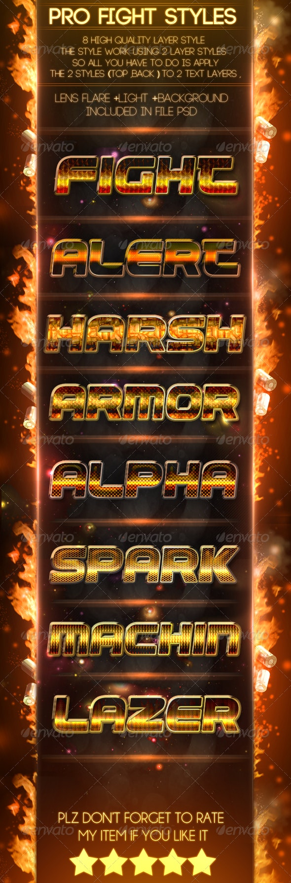 Pro Fight [Styles] - Text Effects Styles