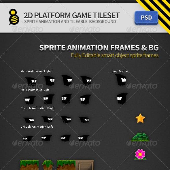 2D Platform Game Tileset
