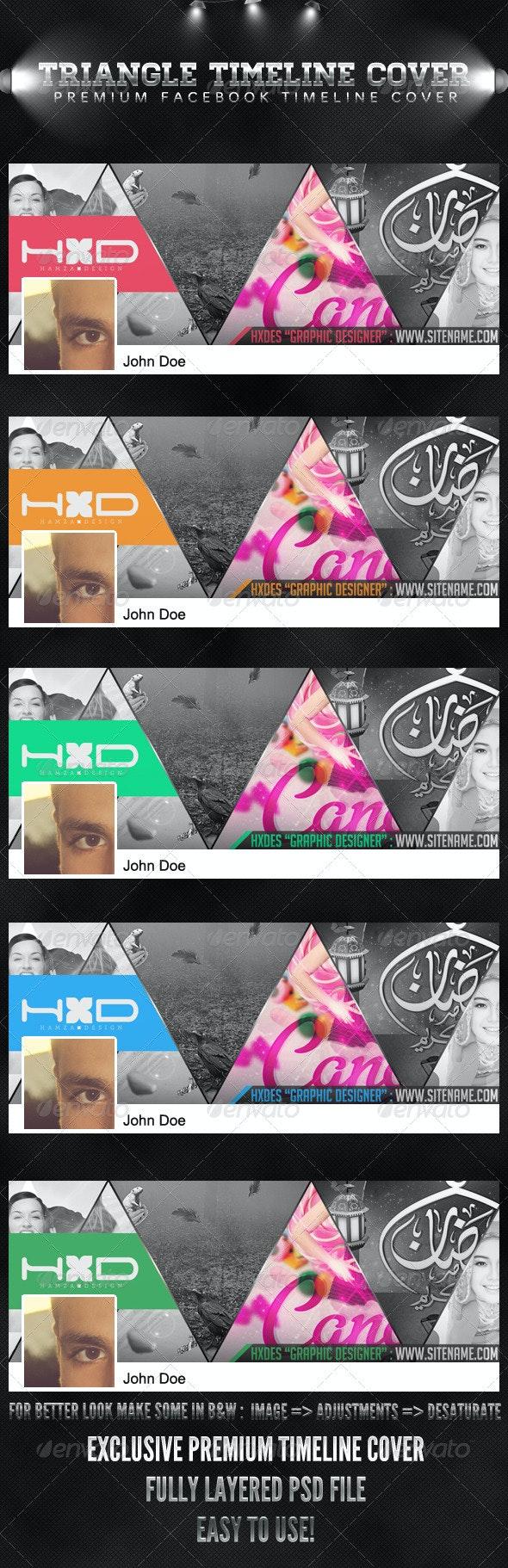Triangle Timeline Cover - Facebook Timeline Covers Social Media