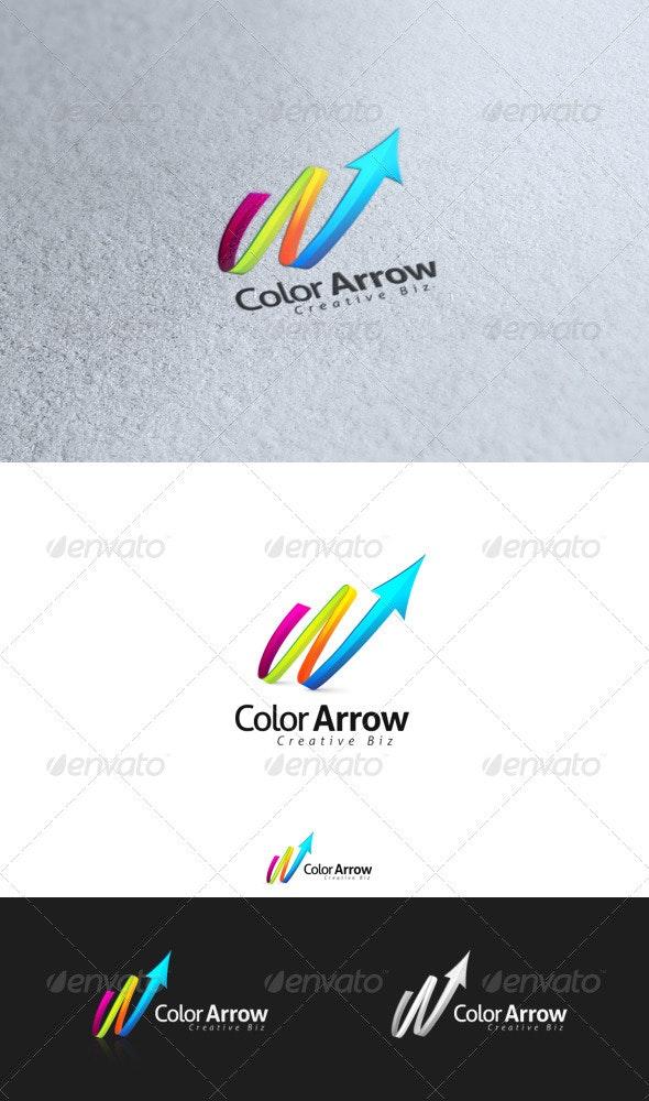 Color Arrow - Letters Logo Templates