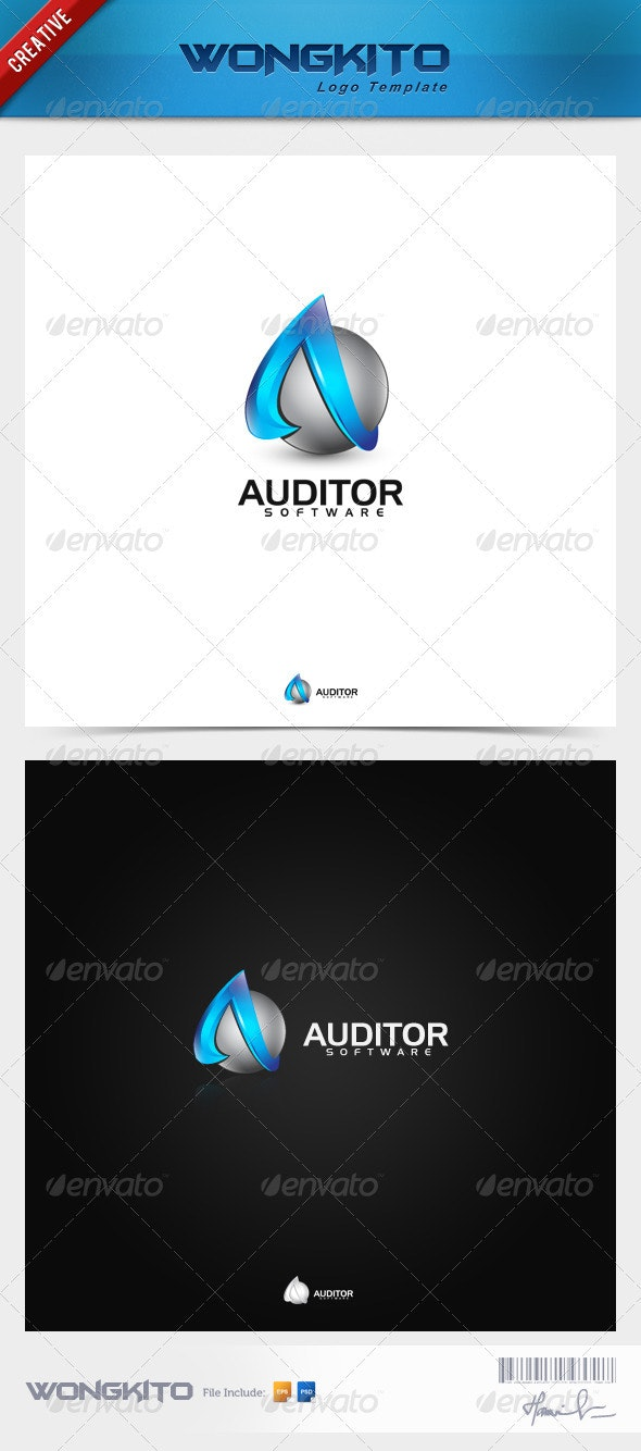 Auditor - Objects Logo Templates
