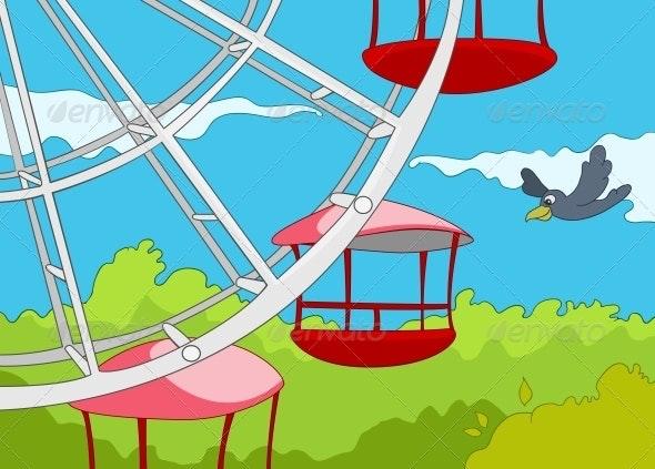 Amusement Park - Landscapes Nature