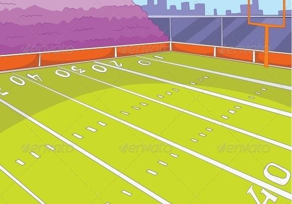 American Football Stadium - Sports/Activity Conceptual