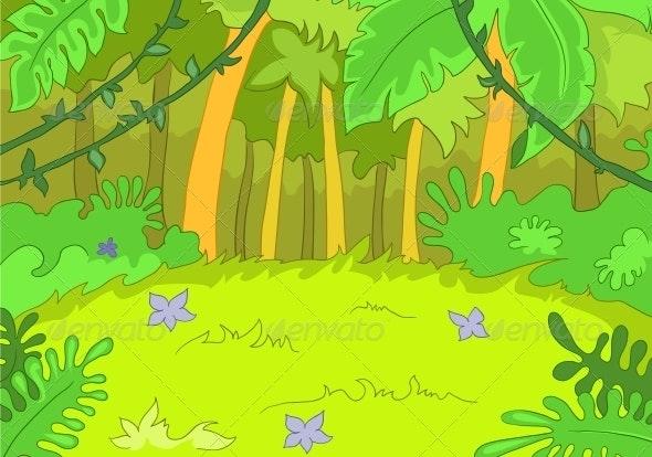 Jungley Glade - Landscapes Nature