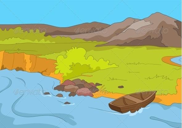 Lake Shore - Landscapes Nature