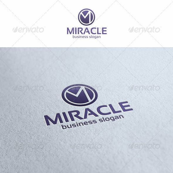 Miracle - M Logo Template