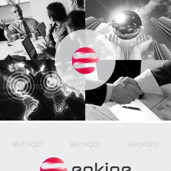 Stationary & Brand Identity - Enkine