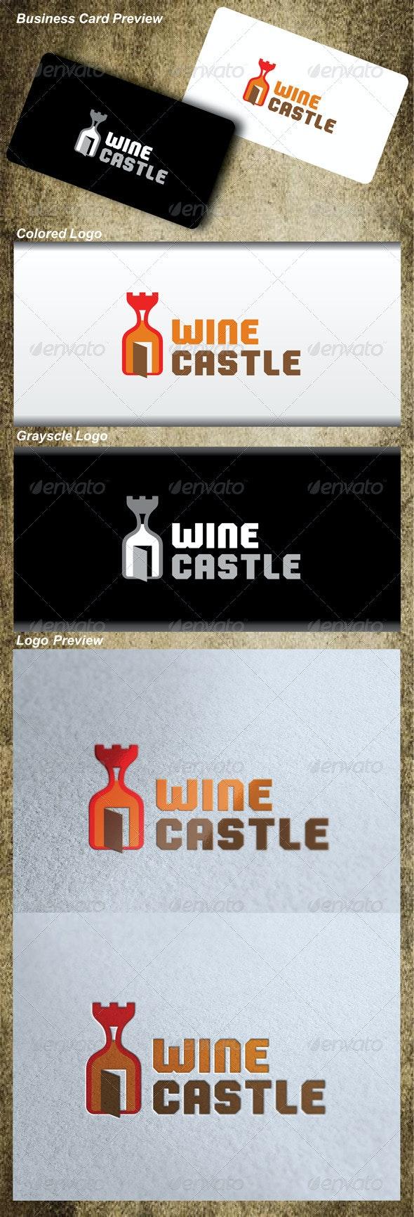 Wine Castle Logo - Symbols Logo Templates