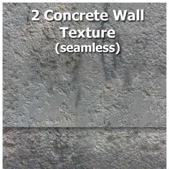 Concrete Wall Texture  (Seamless)