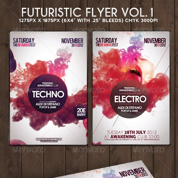 Futuristic Flyer Vol. 1