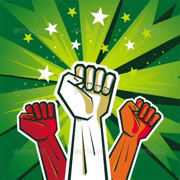 Revolution Poster Design