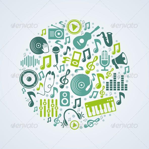 Vector Music Concept
