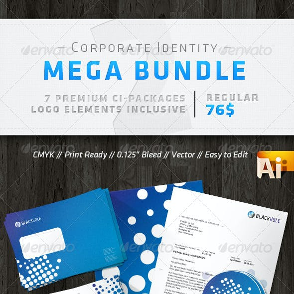 Corporate Identity Mega Bunde V2