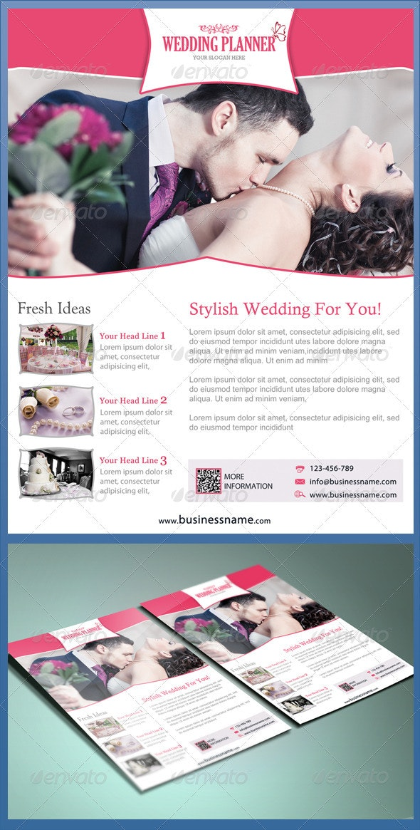 Wedding Planner Flyer - Miscellaneous Events