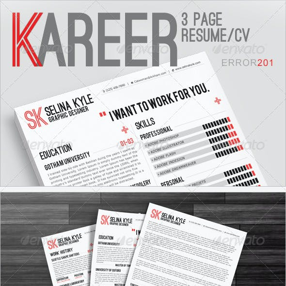 Kareer Premium Resume