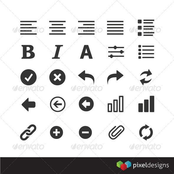 25 Modern UI Icons