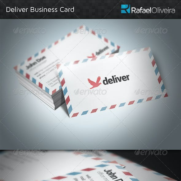 Deliver Business Card