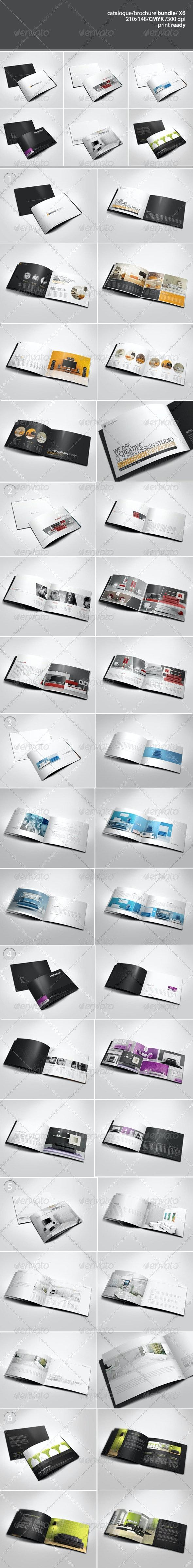 A5 Catalogue / Brochure Bundle - Portfolio Brochures