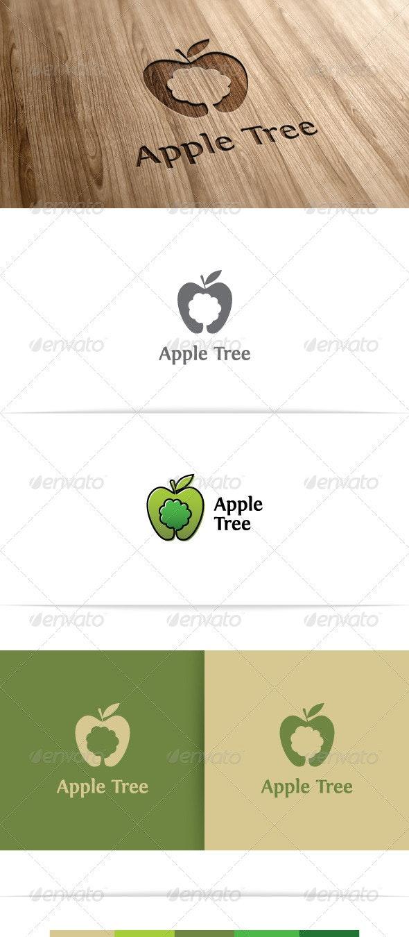 Apple Tree - Nature Logo Templates