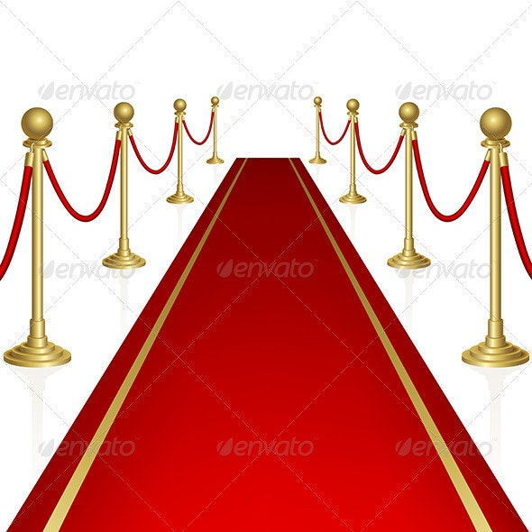 Red Carpet - Man-made Objects Objects