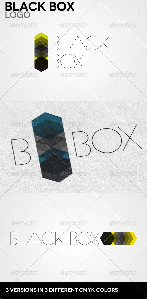 Black Box Logo - Abstract Logo Templates