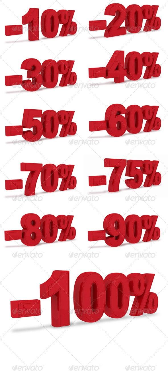 10% - 100% discount- 3D - 3D Renders Graphics