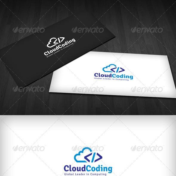 Cloud Coding Logo