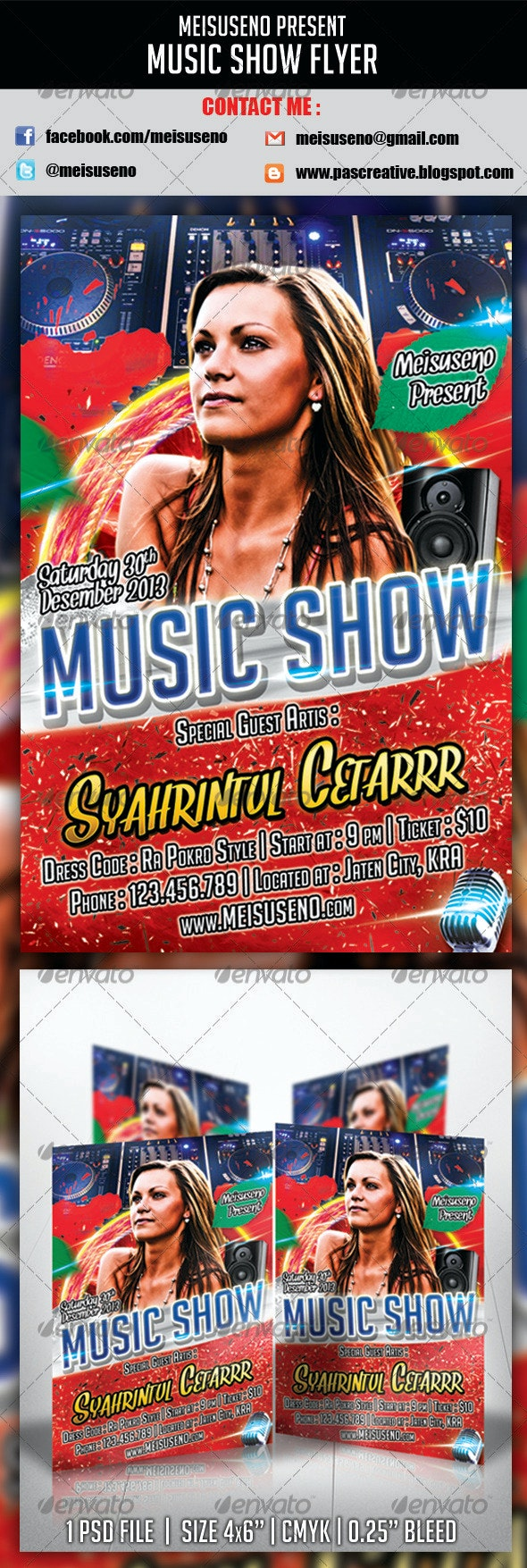 Music Show Flyer - Concerts Events