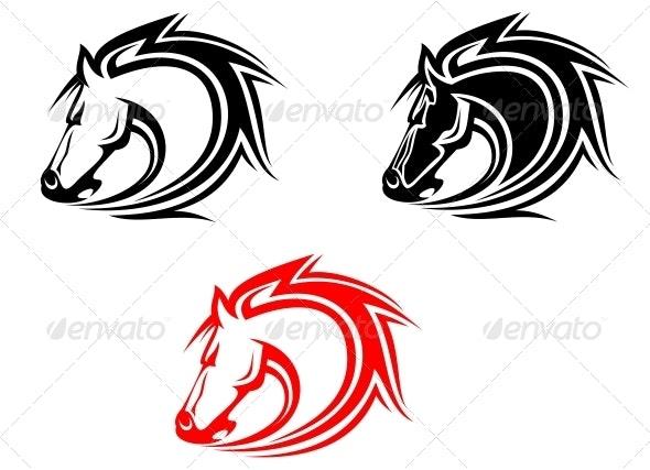 Horses - Animals Characters