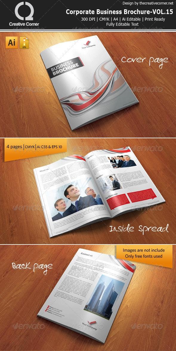 Corporate Business Brochure-VOL.15 - Corporate Brochures