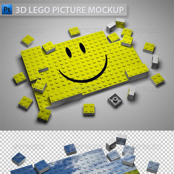 3D Lego Picture