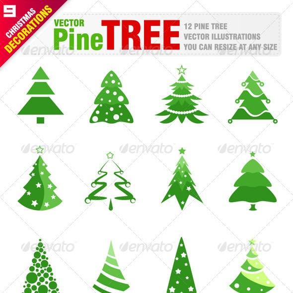 12 Pine Trees