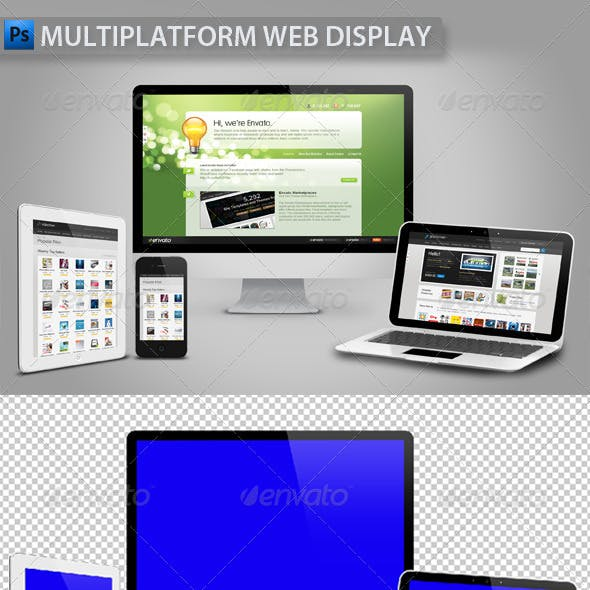 Multiplatform Web Display
