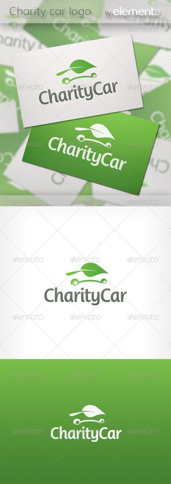 Charity Car Logo - Nature Logo Templates