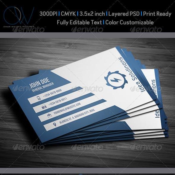 Corporate Business Card Vol.10
