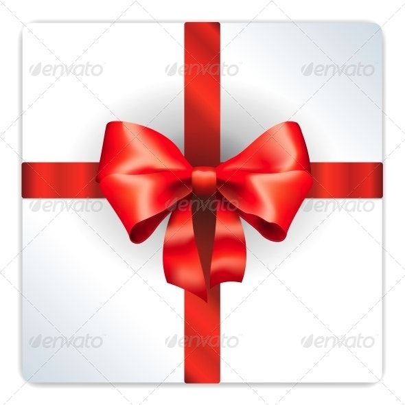 Red Bow Isolated - Decorative Vectors
