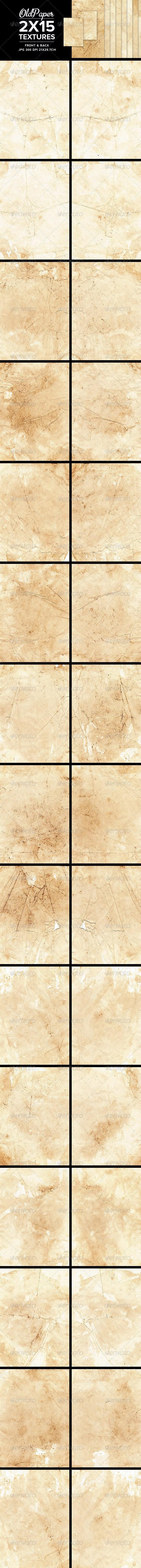 Old Paper Textures - Paper Textures