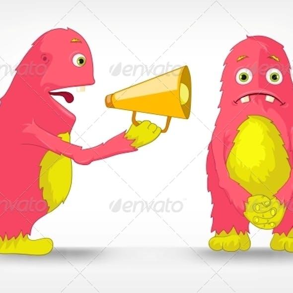 Funny Monster - Speaker