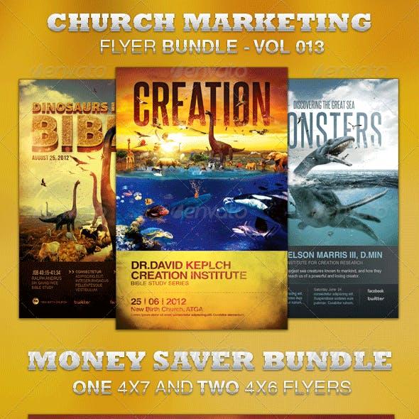 Church Marketing Flyer Bundle-Vol 013