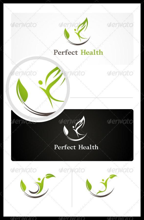 Perfect Health - Humans Logo Templates