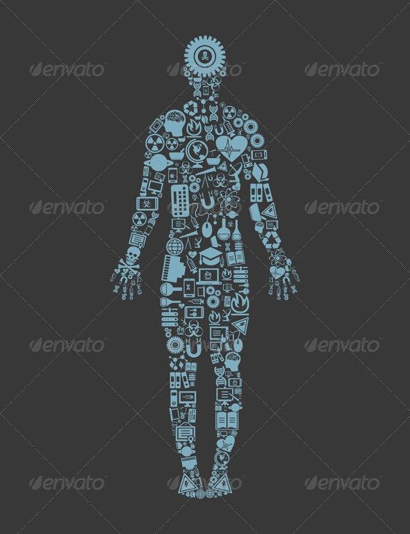 Science Person - Health/Medicine Conceptual