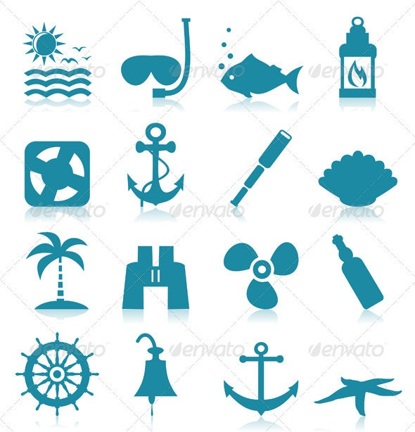 Sea Icons - Miscellaneous Vectors