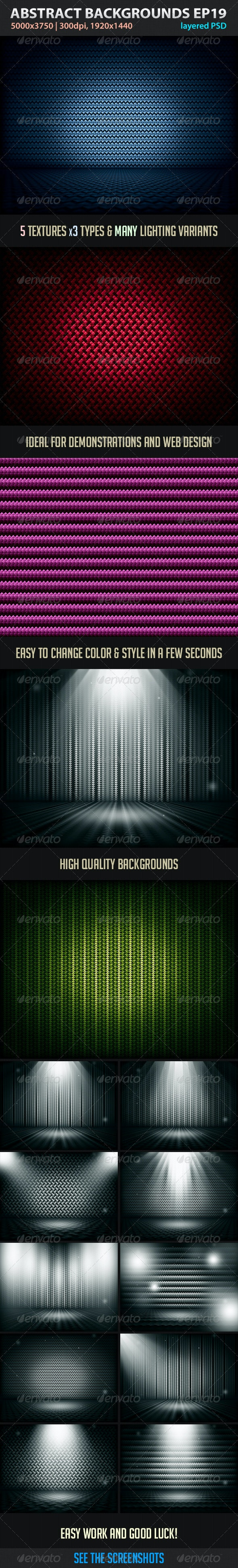 Absctract Backgrounds EP 19 - Abstract Backgrounds